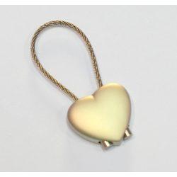 Kulcstartó - szív alakú