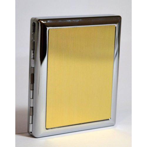 Cigarettatárca - arany színű
