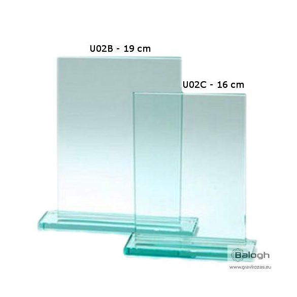 Üveg gravírozás U02B- Gravirozas.eu