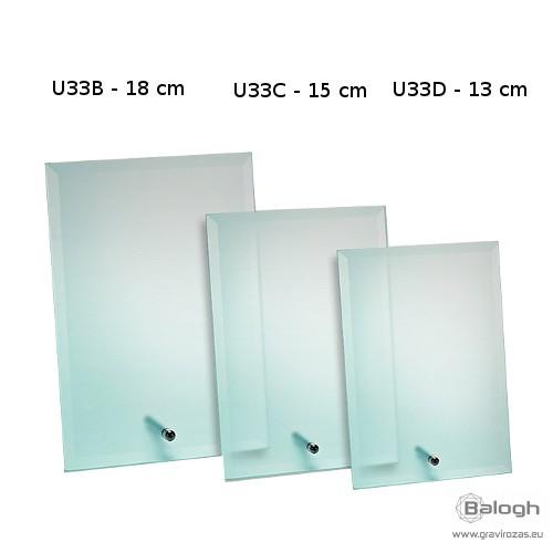Üveg gravírozás U33C - Gravirozas.eu