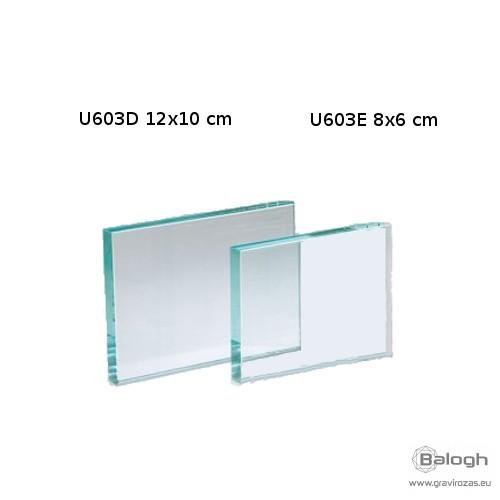 Üveg gravírozás U603E - Gravirozas.eu